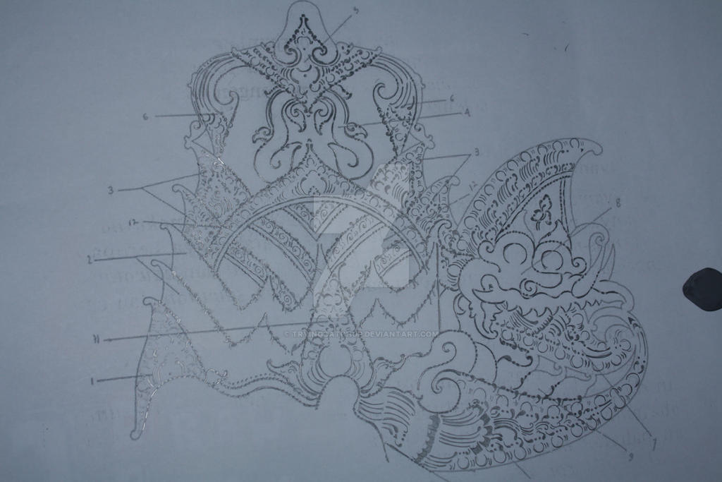 wayang pattern by tryingcatchup