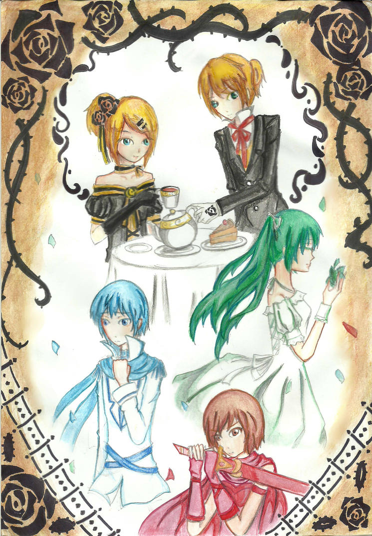 vocaloid: story of evil by yami-neko2912
