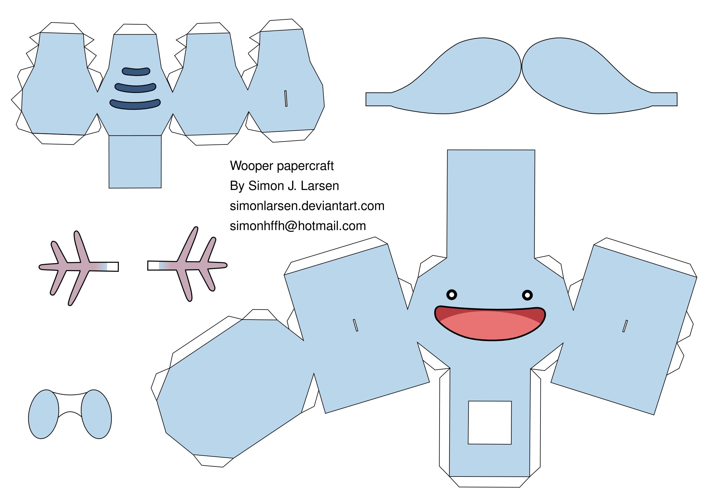 Papercraft: Charizard - YouTube | 1654x2339