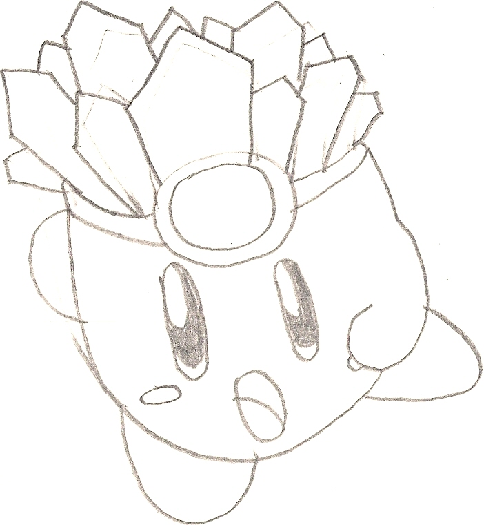 ice kirby coloring pages - photo#8