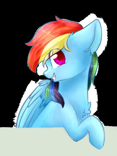 Rainbow Dash by TwinkePaint