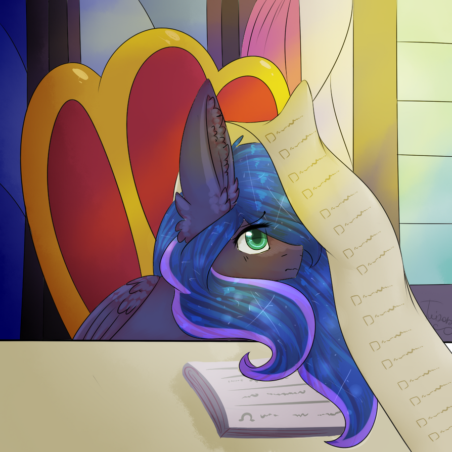Princess Luna [R] by TwinkePaint