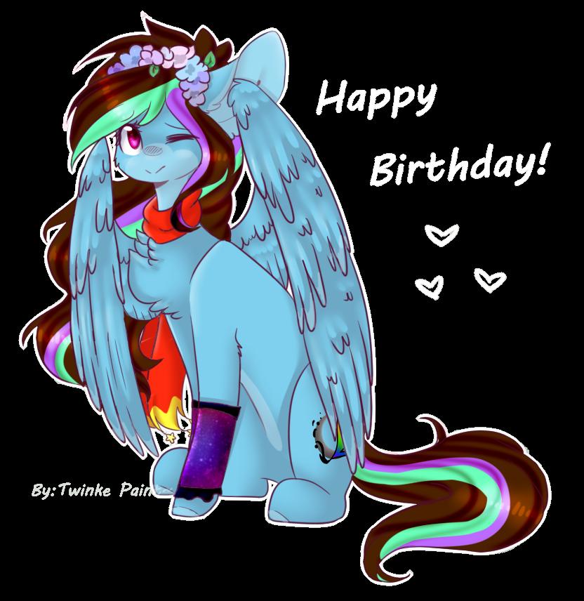 Happy birthday, my dear[G] by TwinkePaint