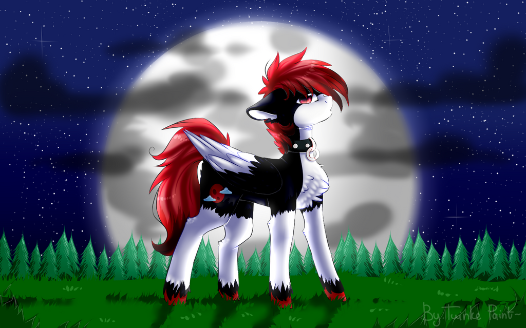 Umbra Moon[Halloween Gift] by TwinkePaint