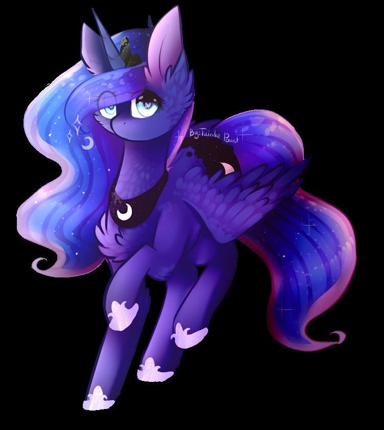 Lil Princess Luna by TwinkePaint