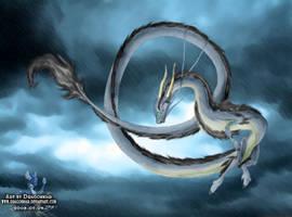 Eastern dragon by Dragonniar