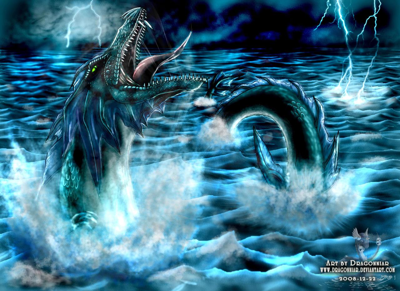 Sea serpent improvement by dragonniar on deviantart
