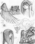Fallon Sketches by BlackManaBurning