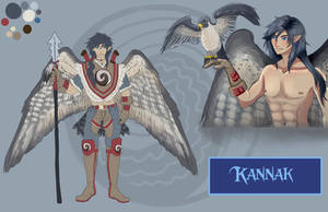 Kannak, Grand Father of Boreal Isla by BlackManaBurning