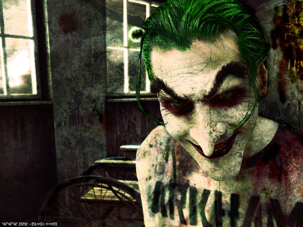 Joker in Arkham by BigBacon