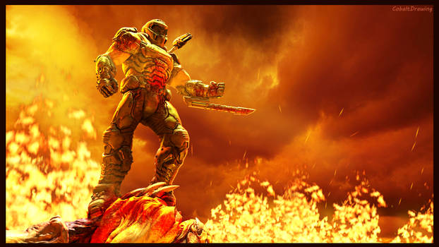 (SFM) Doom Slayer