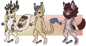 Batch 3 Adopts OPEN by SootTiger
