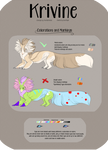 Krivine :: Color Reference by SootTiger