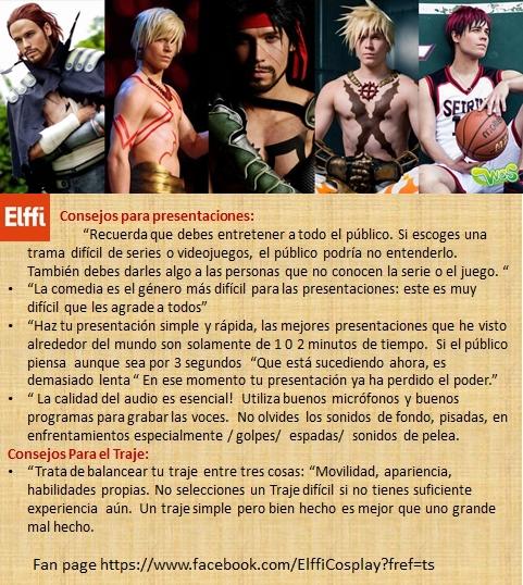 Consejos para concursos cosplay por Elffi Cosplay. by nandolopal