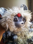 Lim the messenger raccoon