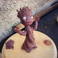 Groot in a pot - wip by ManicMinion