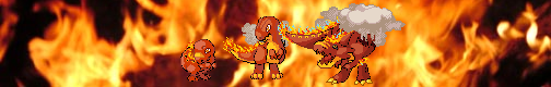TPC Finished Art-Fire Starters by ThePokemonChronicles
