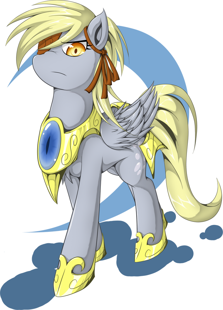 General Derpy by zaiyaki