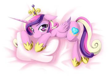 Princess Cadance by zaiyaki