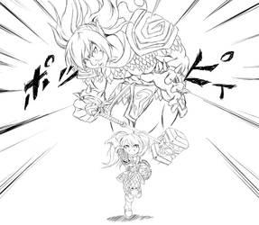 The new Poppy by zaiyaki