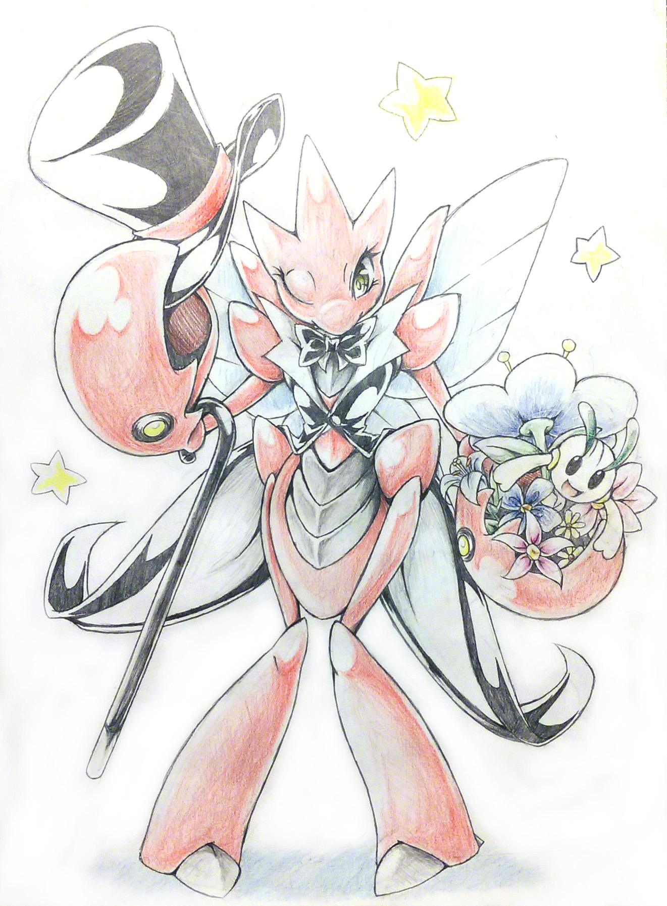 Scizor by zaiyaki