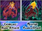 Gorlag - Anime Artwork remade
