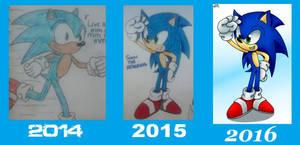 3 Years of Improvement: Sonic