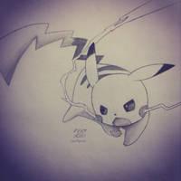 Pikachu by imamarwal