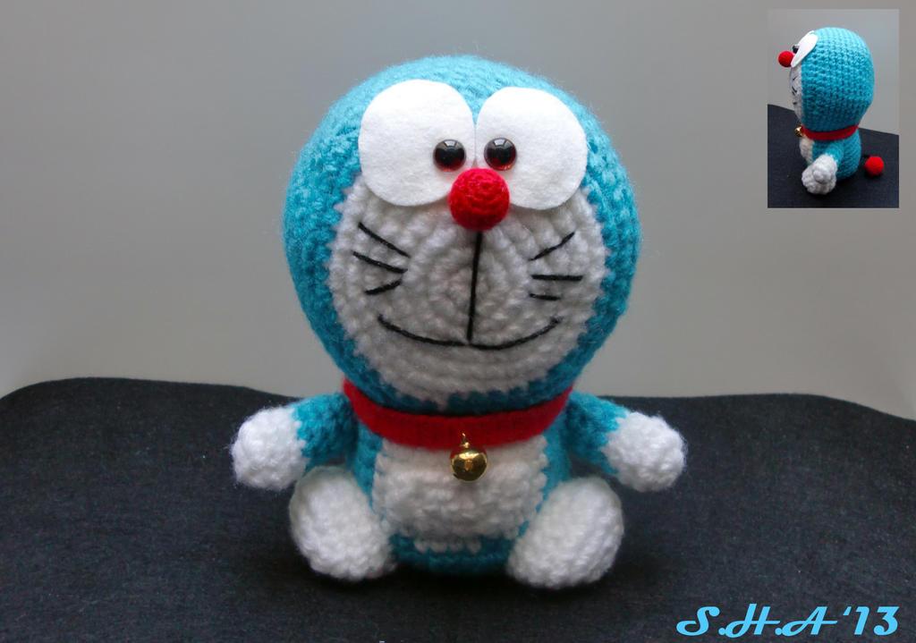 Doraemon amigurumi by sushann on DeviantArt
