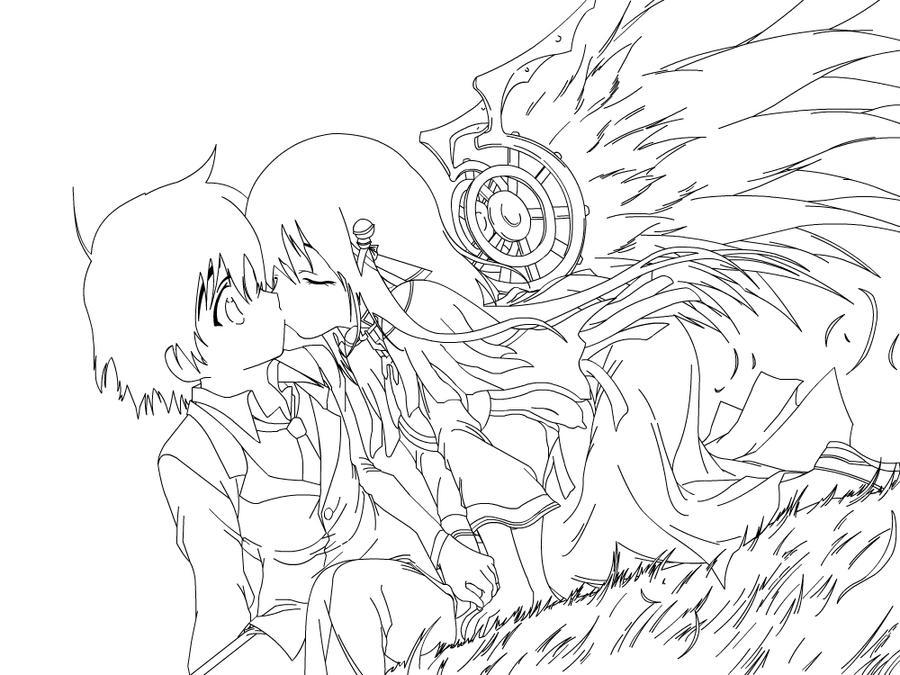 Sora No Otoshimono: Under the Cherry Tree by ramenngudles