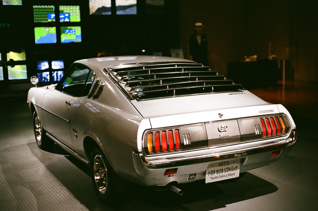 Toyota Celica Liftback 1973 By Renegadex2 On Deviantart
