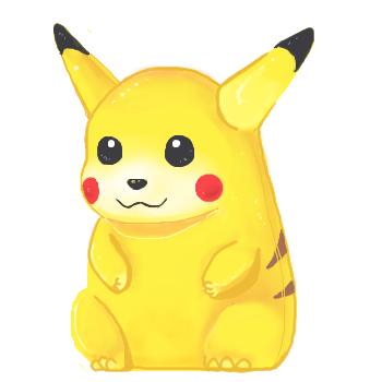 Pikachu Figurine by BBH
