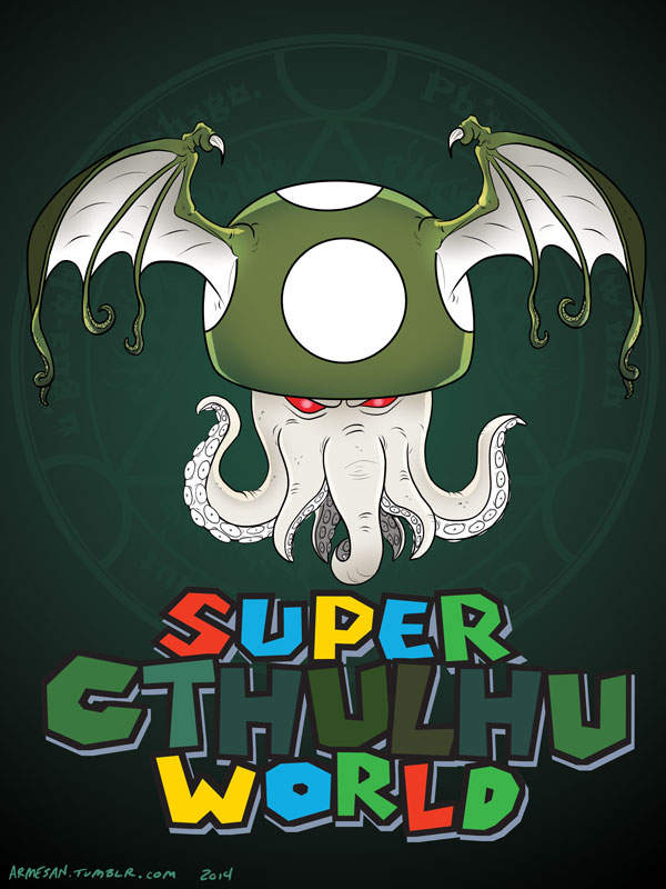 Super Cthulhu World by Armesan