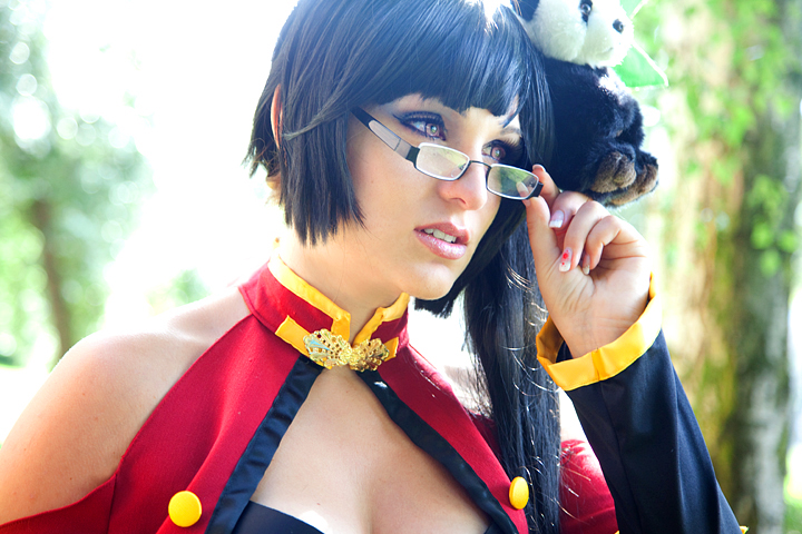 Litchi Faye Ling Contemplating by Aotenshi