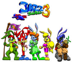 Jazz Jackrabbit 3d by ionutjazz96