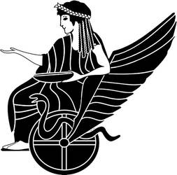 Goddess in Chariot