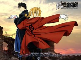 Roy 'n' Edward: Postcard (Manga version)