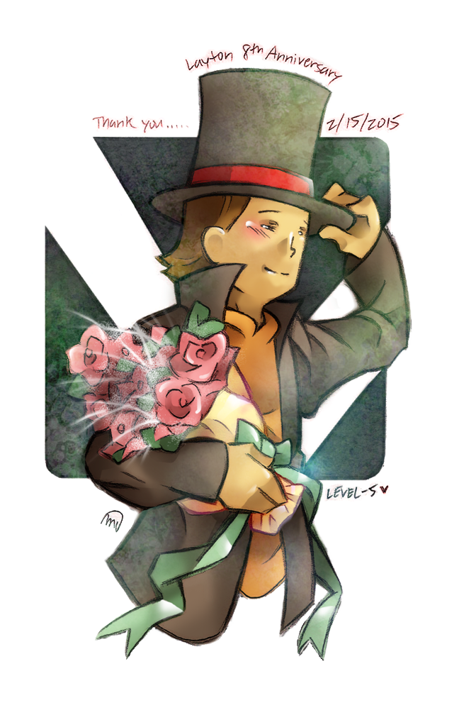 Thank You, Professor Layton by MagicianCelemis