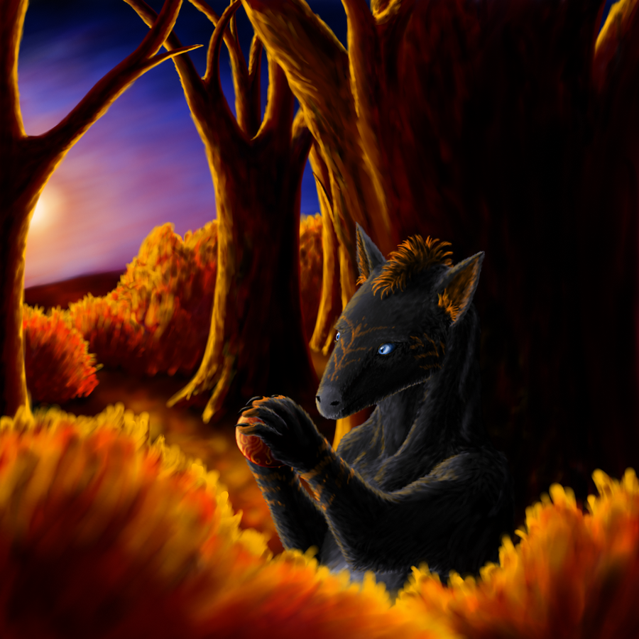 Golden forest by CamaroLp