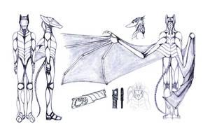 Design update: Zicryatos' exo-suit by CamaroLp