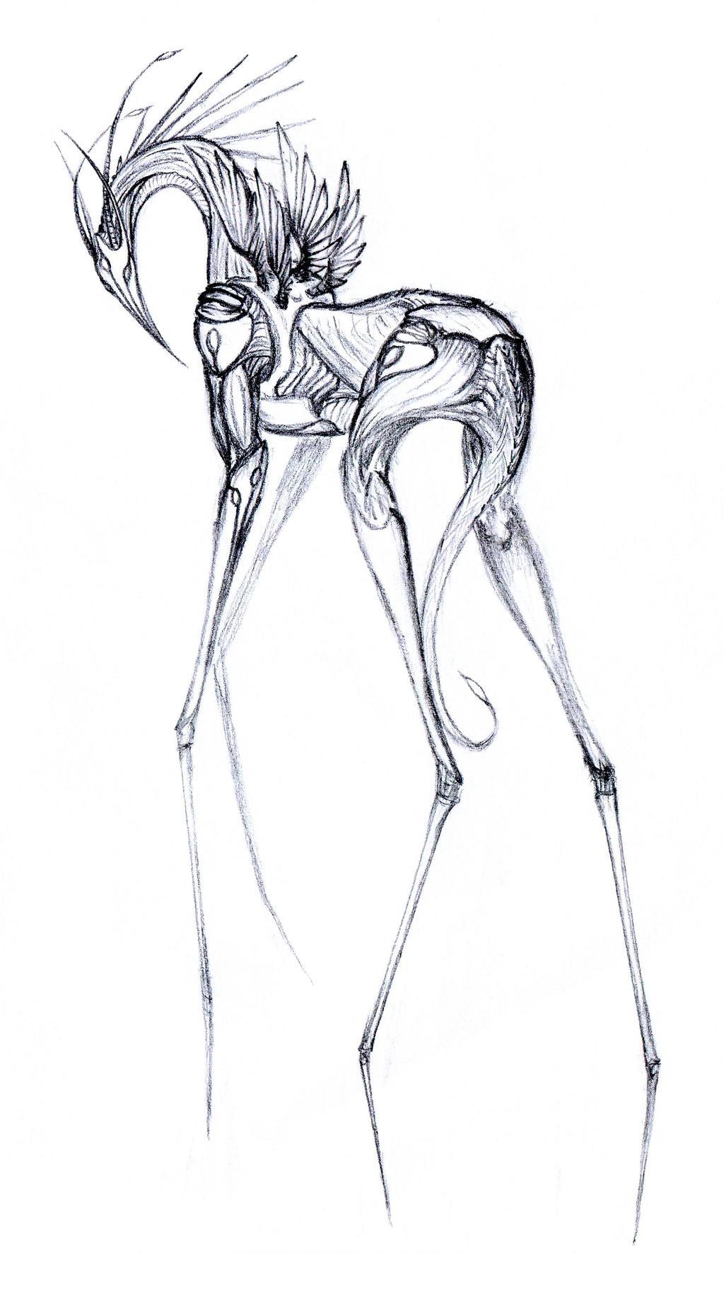 Sketch: Atjeru by CamaroLp