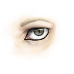 Yozer's eye by CamaroLp