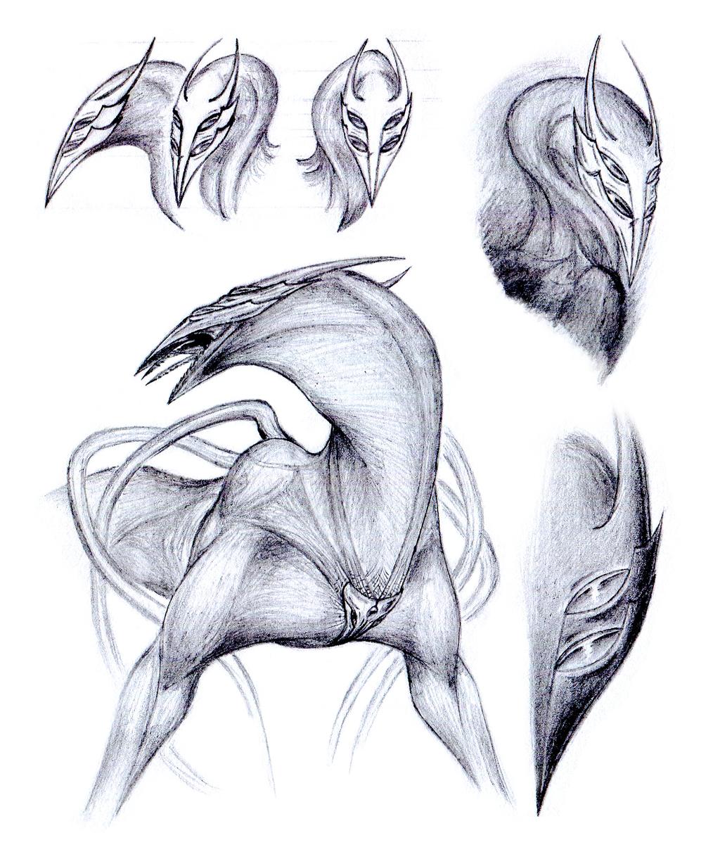 Sketchdump: Triangle by CamaroLp