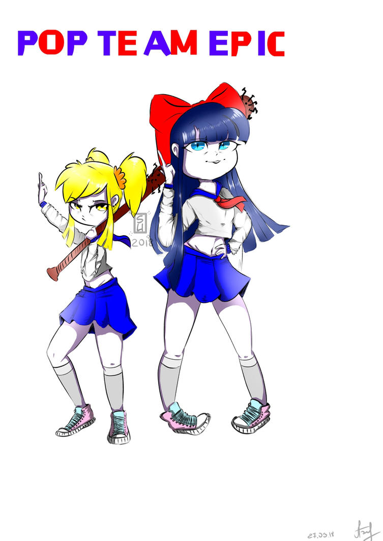 POP TEAM EPIC by Buravova