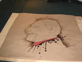 Brown paper art 4