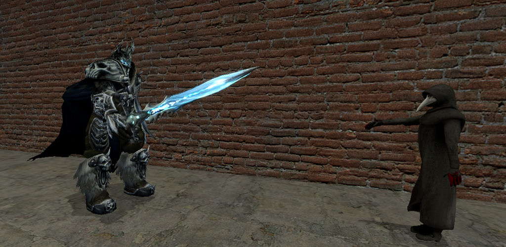 Gmod - The Lich King meets SCP-049 by HighlordSalemJustice on DeviantArt