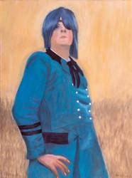 Merry in uniform by JoshuaCassella