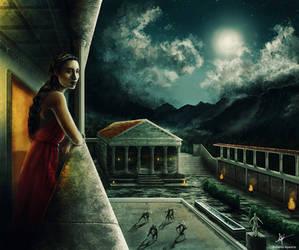 Midnight in the villa by ElRobel