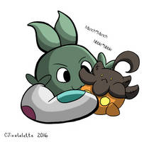Pkmn Skies : : Plush Nibbles by CJizzlelette