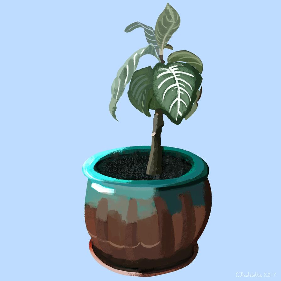 Plant Friends #1 by CJizzlelette